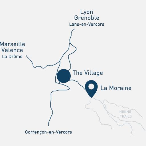 Carte La Moraine